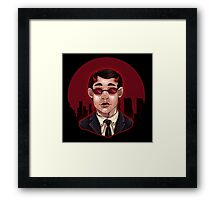 The Devil Of Hell's Kitchen Framed Print