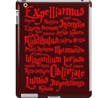 Expelliarmus Spell Quote iPad Case/Skin