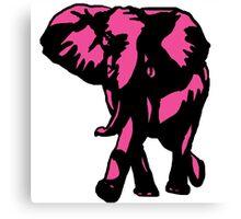 elephant-pink Canvas Print