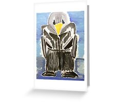 penguin Greeting Card