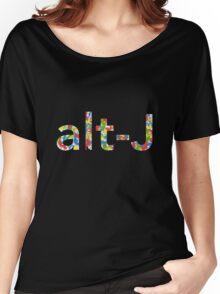 Alt J Paint Splatter Women's Relaxed Fit T-Shirt