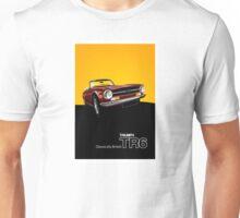 Triumph TR6 Classic Car Advert Unisex T-Shirt