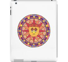 Mandala Face Sad Sack Sun iPad Case/Skin