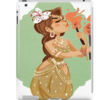 Circus- Fire Dancer iPad Case/Skin