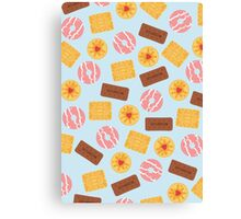 British Biscuits Canvas Print