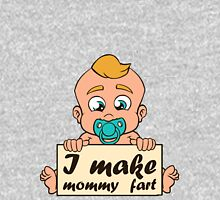 I make mommy fart illustration Women's Relaxed Fit T-Shirt