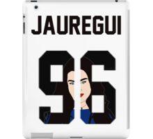 """Jauregui'96 """"Face"""" Jersey iPad Case/Skin"""