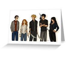 the tmi gang Greeting Card