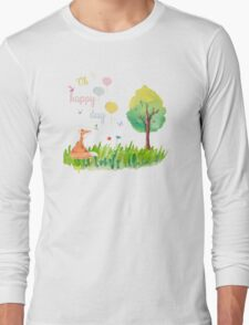 Oh happy day Long Sleeve T-Shirt