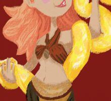 Circus- Snake Charmer Sticker