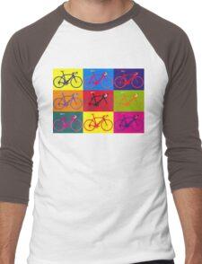 Bike Andy Warhol Pop Art Men's Baseball ¾ T-Shirt