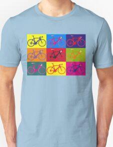Bike Andy Warhol Pop Art Unisex T-Shirt