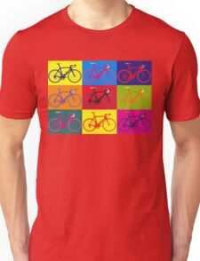 Bike Andy Warhol Pop Art Unisex T-Shirt