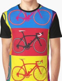 Bike Andy Warhol Pop Art Graphic T-Shirt