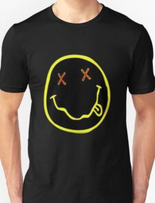 acid smile face Unisex T-Shirt