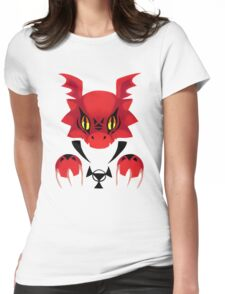 Bad Guilmon Womens Fitted T-Shirt