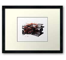 Pyramids Don't Build Themselves Framed Print