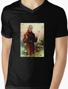 St. Bernie of Assisi Mens V-Neck T-Shirt