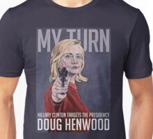 Hillary with Gun Unisex T-Shirt
