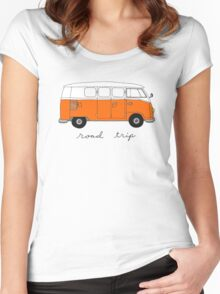 Road Trip Women's Fitted Scoop T-Shirt