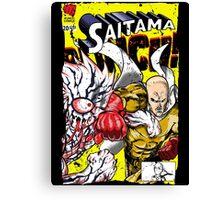Saitama Comics (Lord Boros Variant) Canvas Print