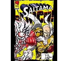 Saitama Comics (Lord Boros Variant) Photographic Print