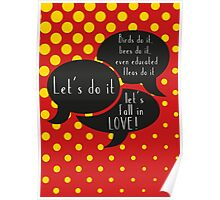 Let's do it, let's fall in LOVE Poster