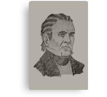 James K. Polk Canvas Print