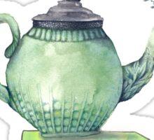 Books & Tea Watercolor Sticker