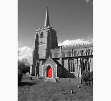 Red Door, St Mary's, Bramford Unisex T-Shirt