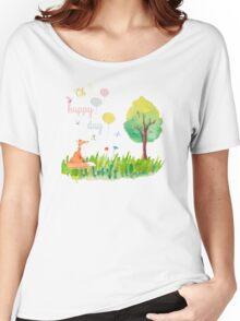 Oh happy day Women's Relaxed Fit T-Shirt