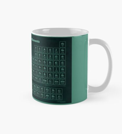 Glow Effect Periodic Table Mug