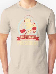 jon stewart president Unisex T-Shirt