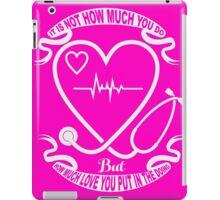 Tough Nurses iPad Case/Skin