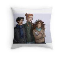 Hogwarts trio Throw Pillow