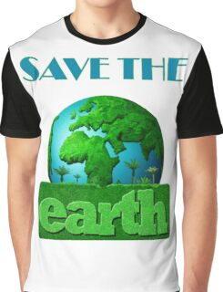 Earth Day Graphic T-Shirt