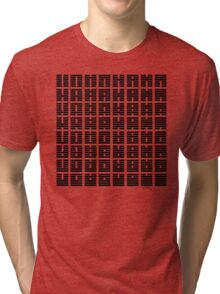 64 symbols in black Tri-blend T-Shirt