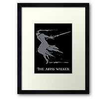 The Abyss Walker Framed Print