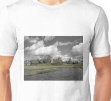 Selective Colour Landscape, Aldham Unisex T-Shirt