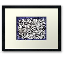 Conditional Equilibrium Framed Print