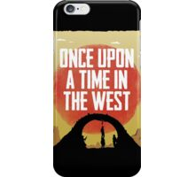 Once Upon a Time in the West - Hanging iPhone Case/Skin