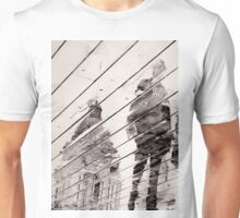 Rainy Day on the Promenade (Man only) Unisex T-Shirt