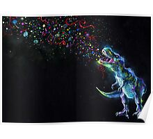 Crystal T-Rex Poster