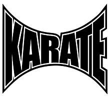 Karate Sign 1 - Japanese Martial Art Photographic Print