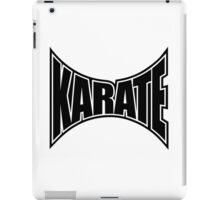 Karate Sign 1 - Japanese Martial Art iPad Case/Skin