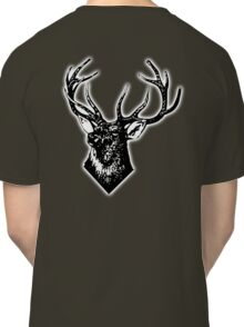 STAG, Stag Head, The Stag, Deer, Antlers, Hunt, Hunting Classic T-Shirt
