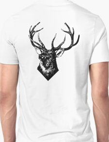 STAG, Stag Head, The Stag, Deer, Antlers, Hunt, Hunting Unisex T-Shirt