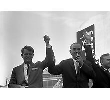 Lyndon Johnson With Robert Kennedy  Photographic Print