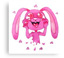 Love Bunny Canvas Print