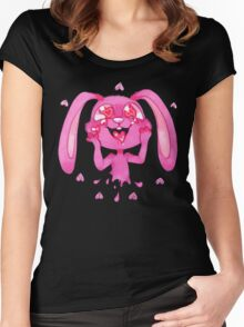 Love Bunny Women's Fitted Scoop T-Shirt